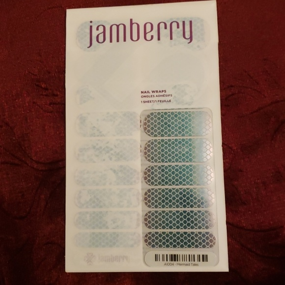 Jamberry Other - Jamberry Nail Wraps Mermaid Tales